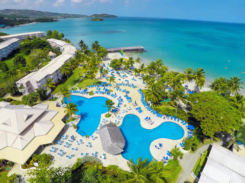 St. James's Club Morgan Bay - Saint Lucia's Favorite All-Inclusive Resort for Everyone! (Photo: Business Wire)