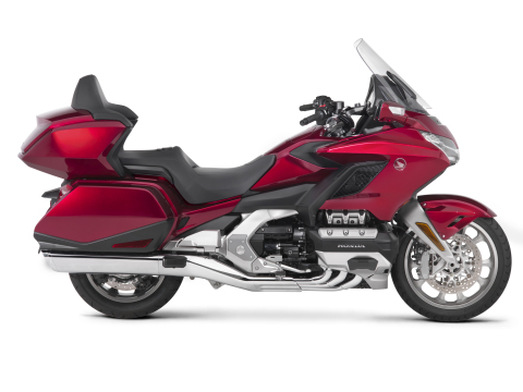 Honda unveiled the all-new 2018 Gold Wing Tour motorcycle during a special event in Santa Barbara, California. (Photo: Business Wire)