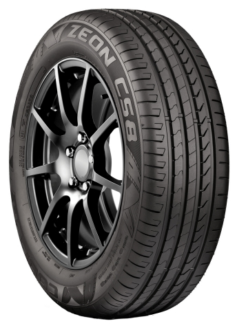 The high performance Cooper Zeon CS8 passenger car tire has been selected as original equipment on t ...