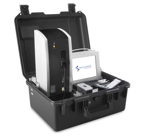 FieldLab 58 Portable Fluid Analysis System From Spectro Scientific Boosts Performance with New X-ray Fluorescence (XRF) Engine (Photo: Business Wire)