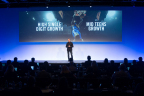 Mark Parker shared NIKE's strategy for driving accelerated growth over the next five years. (Photo: Business Wire)