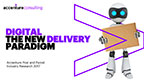 AI, robotics and augmented reality are shaping posts and delivery companies, says Accenture.