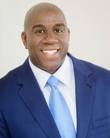 "Earvin ""Magic"" Johnson, JLC Infrastructure (Photo: Business Wire)"