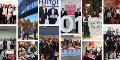Hilton Named a Top 10 World's Best Workplace (Photo: Business Wire)