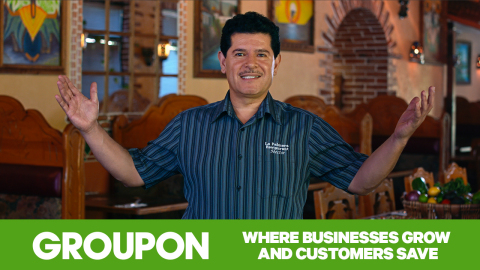 Groupon, which has pumped more than $17 billion into local communities, today unveiled a new advertising campaign (https://www.groupon.com/pages/communities) featuring the stories of merchants whose businesses and communities have seen incredible successes through the Groupon platform. (Photo: Business Wire)