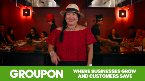 Groupon, which has pumped more than $17 billion into local communities, today unveiled a new adverti ...