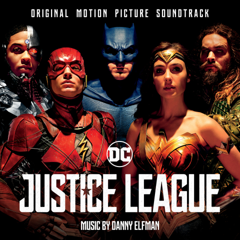 Original Motion Picture Soundtrack Cover to Warner Bros. Pictures' epic action adventure Justice League. (Graphic: Business Wire)