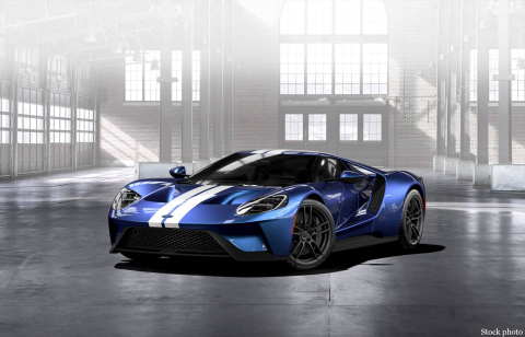 Barrett-Jackson will auction a 2017 Ford GT that was generously donated by businessman Ron Pratte to the Evernham Family-Racing for a Reason Foundation (Photo: Business Wire)
