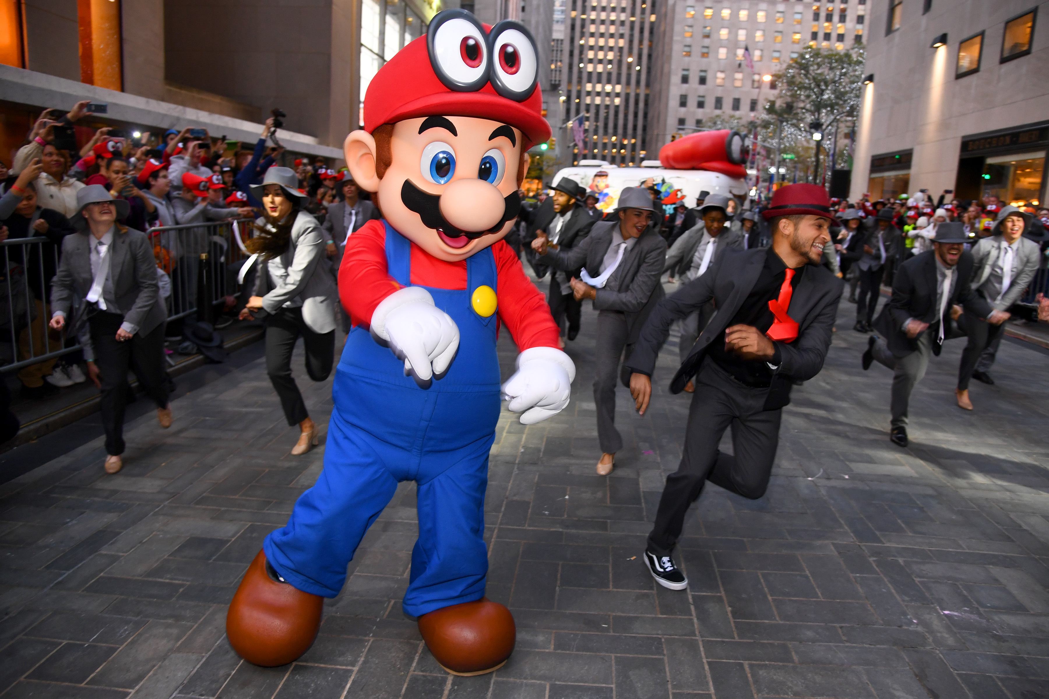 Nintendo Celebrates The Launch Of Super Mario Odyssey In Style