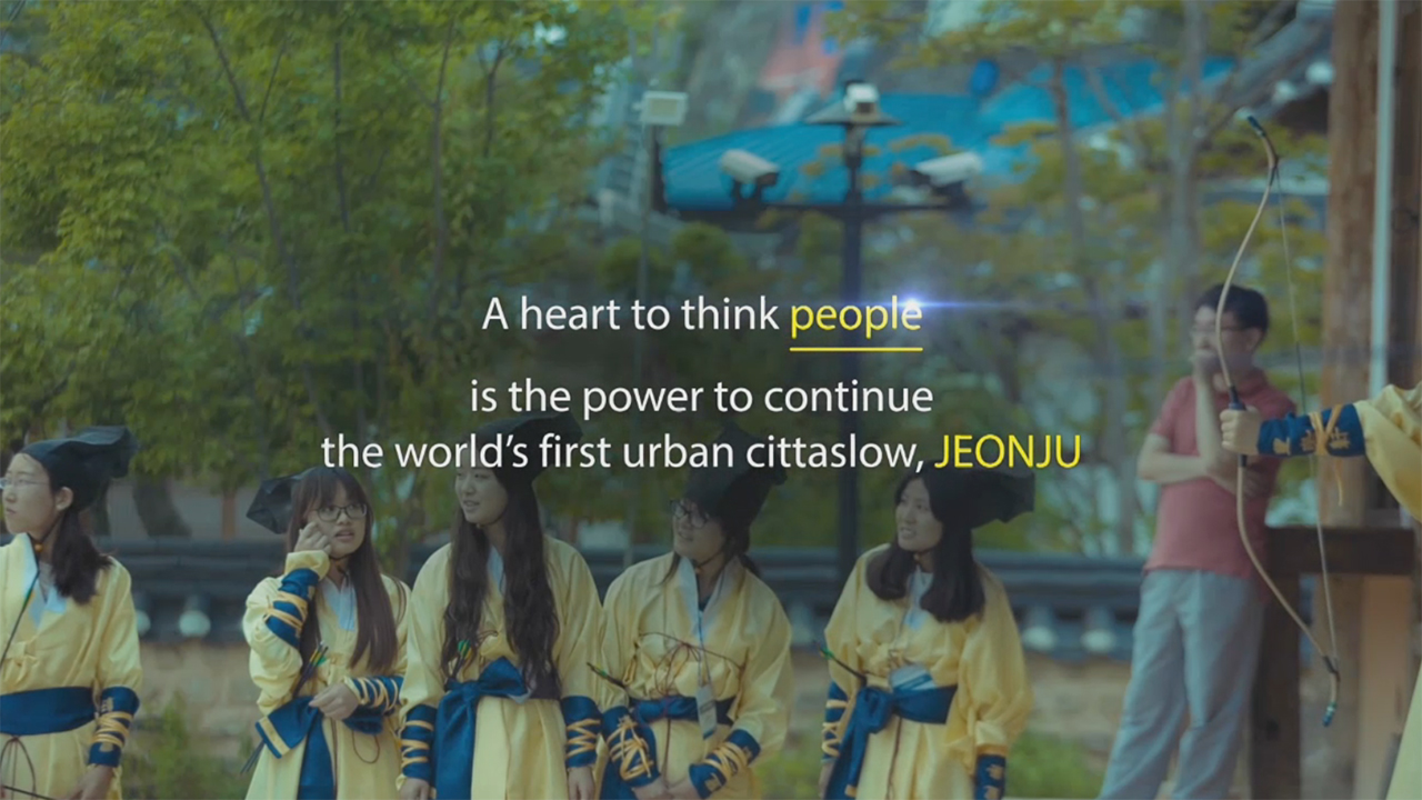 """Jeonju city in Korea hosts 'Jeonju World Slowness Forum and Slowness Award 2017', the world's first Slowness Forum and Award. It will be held for three days from Nov. 1 in Jeonju Hyanggyo and other parts of the Jeonju city. The forum will be held under the slogan """"World Asks, Jeonju Answers"""" and Jeonju will share its slow city ideologies with other slow cities in the world and network. The first Slowness Award will honor individuals and groups who have carried out the philosophy and goals of the slow city movement. Award winners are Seoul Metropolitan Government, Yeongseok Na of CJ E&M PD Team and Poet Suckju Jang, who authored """"The Aesthetics of Slowness and Emptiness"""" and Italy Cittaslow Asolo, Australia Cittaslow Katoomba and Miguel Anxo Fernandez Lores, mayor of Pontevedra, a Spanish city without cars."""