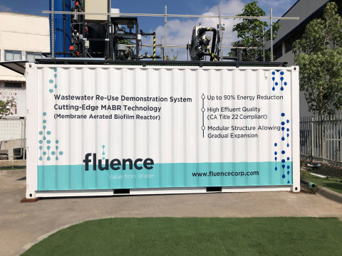 Businesswire Fluence Corporation Flc Fluence To Commission First Mabr System In Mainland United States Researchpool