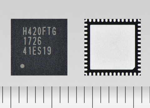 "Toshiba Electronic Devices & Storage Corporation: A new brushed motor driver IC ""TB67H420FTG"" which supports high-voltage, large-current drive for home-use robot vacuum cleaners, printers and other office equipment. (Photo: Business Wire)"