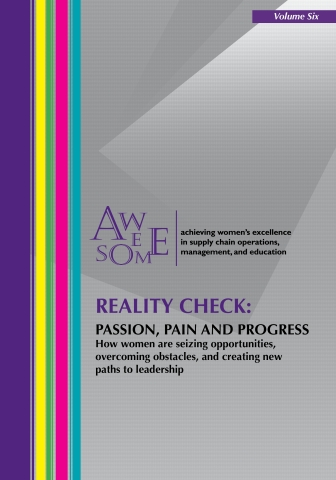 AWESOME Releases New Edition of REALITY CHECK, Identifies Three Reasons Women's Supply Chain Leadership Is On The Rise (Photo: Business Wire)