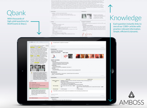 AMBOSS is introducing a new era of medical education, advancing the way medical professionals acquir ...