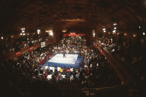 The first RAW at the Manhattan Center on January 11, 1993. (Photo: Business Wire)