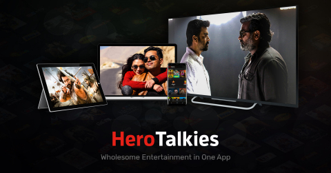 HeroTalkies delivers Indian content to global audiences. (Photo: Business Wire).