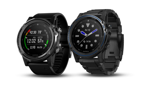 Garmin® debuts its first dive computer, the Descent Mk1, featuring surface GPS in a sleek, everyday  ...