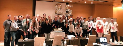 The Public Relations Global Network and its members recently celebrated its 25th year as an organization in Kyoto, Japan. PRGN members work together on behalf of Public Relations clients throughout the globe. (Photo: Business Wire)