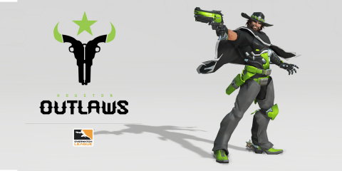 The Houston Outlaws of the Overwatch League (Graphic: Business Wire)