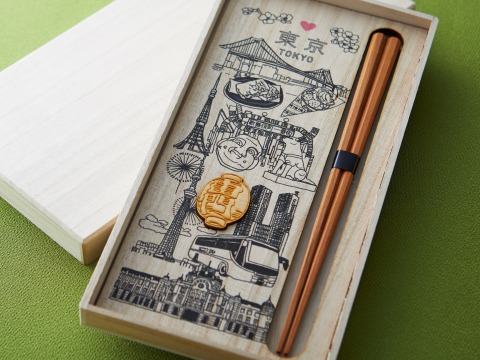 Lacquered chopsticks from various prefectures throughout Japan (Photo: Business Wire)