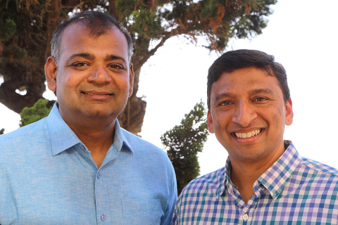 AppZen co-founders Kunal Verma and Anant Kale (Photo: Business Wire)