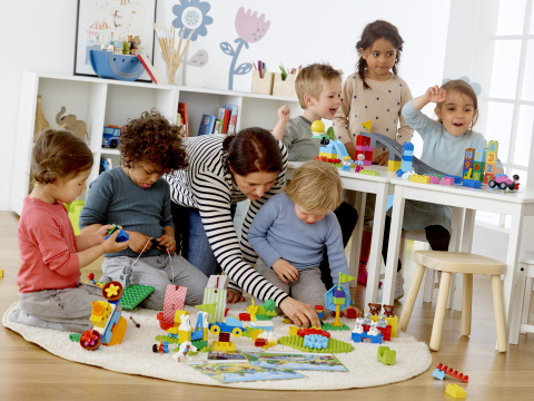 LEGO® Education brings STEAM learning to preschool classrooms (Photo: Business Wire)