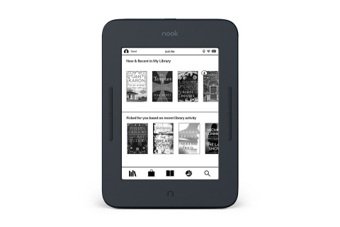 Barnes & Noble introduces the newest NOOK GlowLight just in time for the holidays.(Photo: Business Wire)