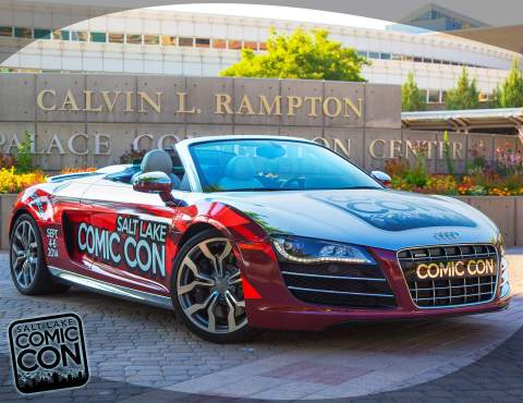 Salt Lake Comic Con car that started the comic con lawsuit. (Photo: Business Wire)