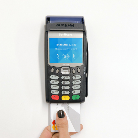 Verifone enables faster checkout (Photo: Business Wire)