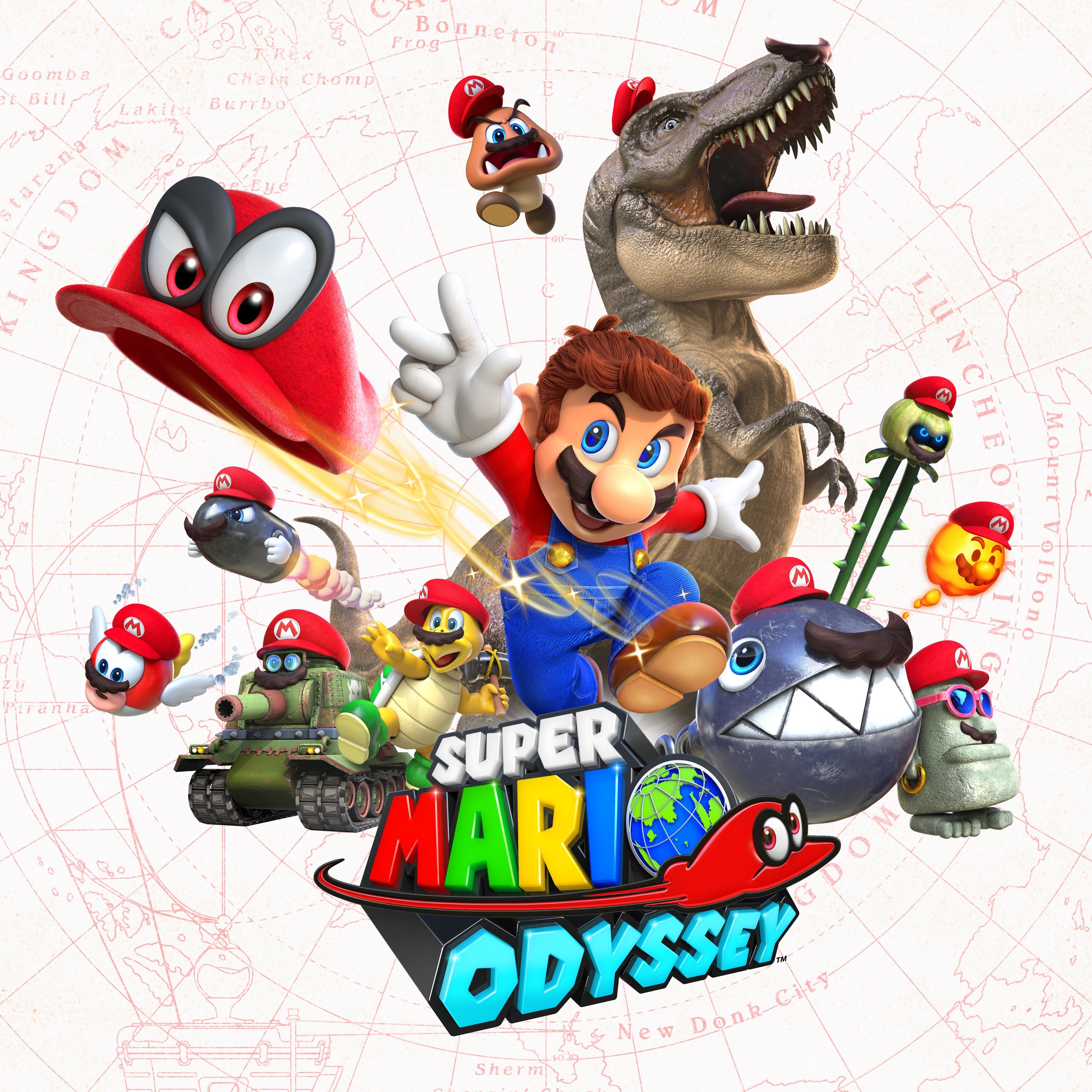 Super Mario Odyssey Becomes Nintendo's Fastest-Selling Super