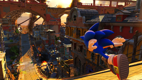 Sonic Forces will be available on Nov. 7. (Graphic: Business Wire)