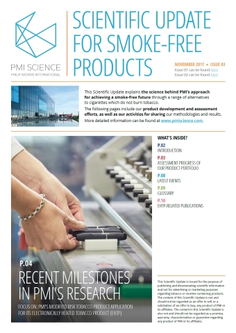Scientific Update for Smoke-Free Products (Photo: Business Wire)