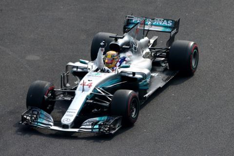 Axalta congratulates Mercedes-AMG Petronas Motorsport on its fourth consecutive Formula One Constructors' Championship achievement. (Photo: Axalta)