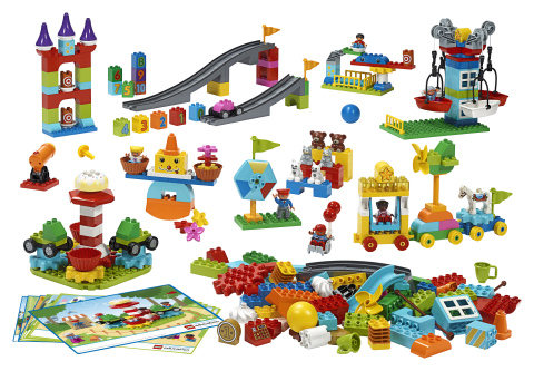 New LEGO® Education STEAM Park sparks preschoolers' natural curiosity in science, technology, engineering, arts and math (Photo: Business Wire)
