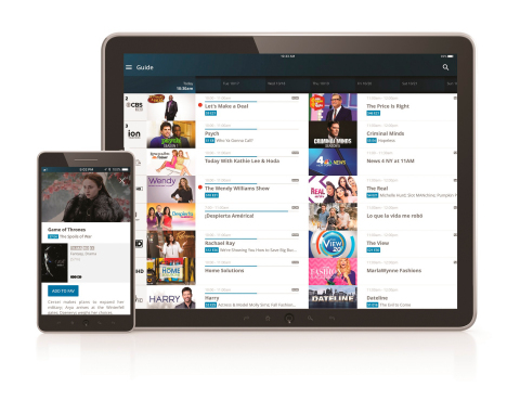 Altice One App for mobile devices (Photo: Business Wire)