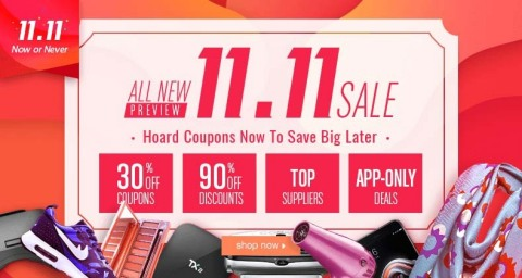 DHgate Single 11 Sale (Photo: Business Wire)