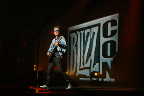 Rock legends Muse close BlizzCon 2017 with an epic concert for attendees and Virtual Ticket holders. (Photo: Business Wire)