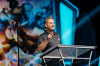 Blizzard Entertainment CEO and co-founder Mike Morhaime welcomes attendees during the BlizzCon 2017 opening ceremony on Friday, November 3. (Photo: Business Wire)