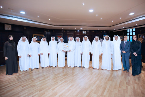 DEWA Is the First Organisation outside Europe to Win EFQM Global Excellence Award in the Platinum Category (Photo: AETOSWire)