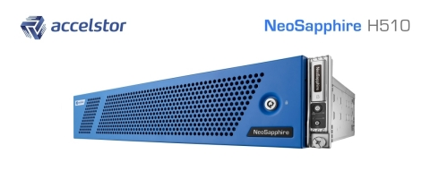 The latest NeoSapphire H510 all-flash array delivers premium performance and 99.9999% reliability. ( ...