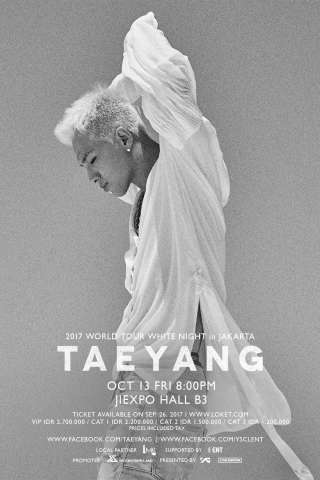 ENT as supporting partner to the TAEYANG 2017 World Tour WHITE NIGHT (Graphic: Business Wire)