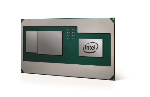 Intel introduces a new product in the 8th Gen Intel Core processor family that combines high-performance CPU with discrete graphics for a thin, sleek design. (Credit: Intel Corporation)
