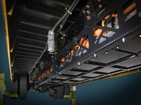 EDI PowerDrive™ 7000 EV easily integrates into major OEM school bus platforms. (Photo: Business Wire)