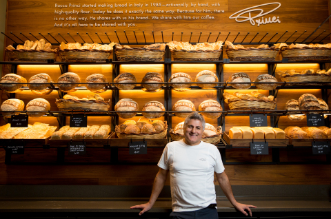 Acclaimed artisan baker Rocco Princi brings the craft of bread baking, exceptional ingredients and t ...
