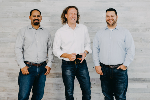 Expel co-founders Yanek Korff, Dave Merkel, and Justin Bajko (Photo: Business Wire)