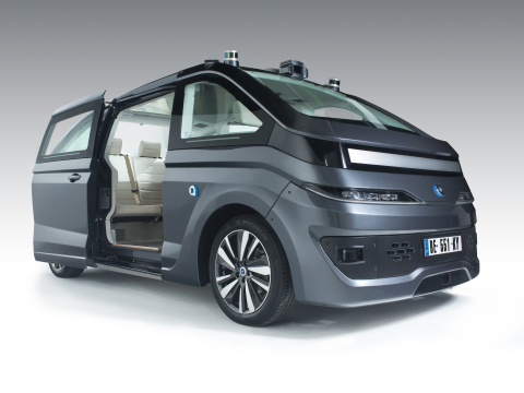 NAVYA's fully autonomous and electric-powered AUTONOM CAB