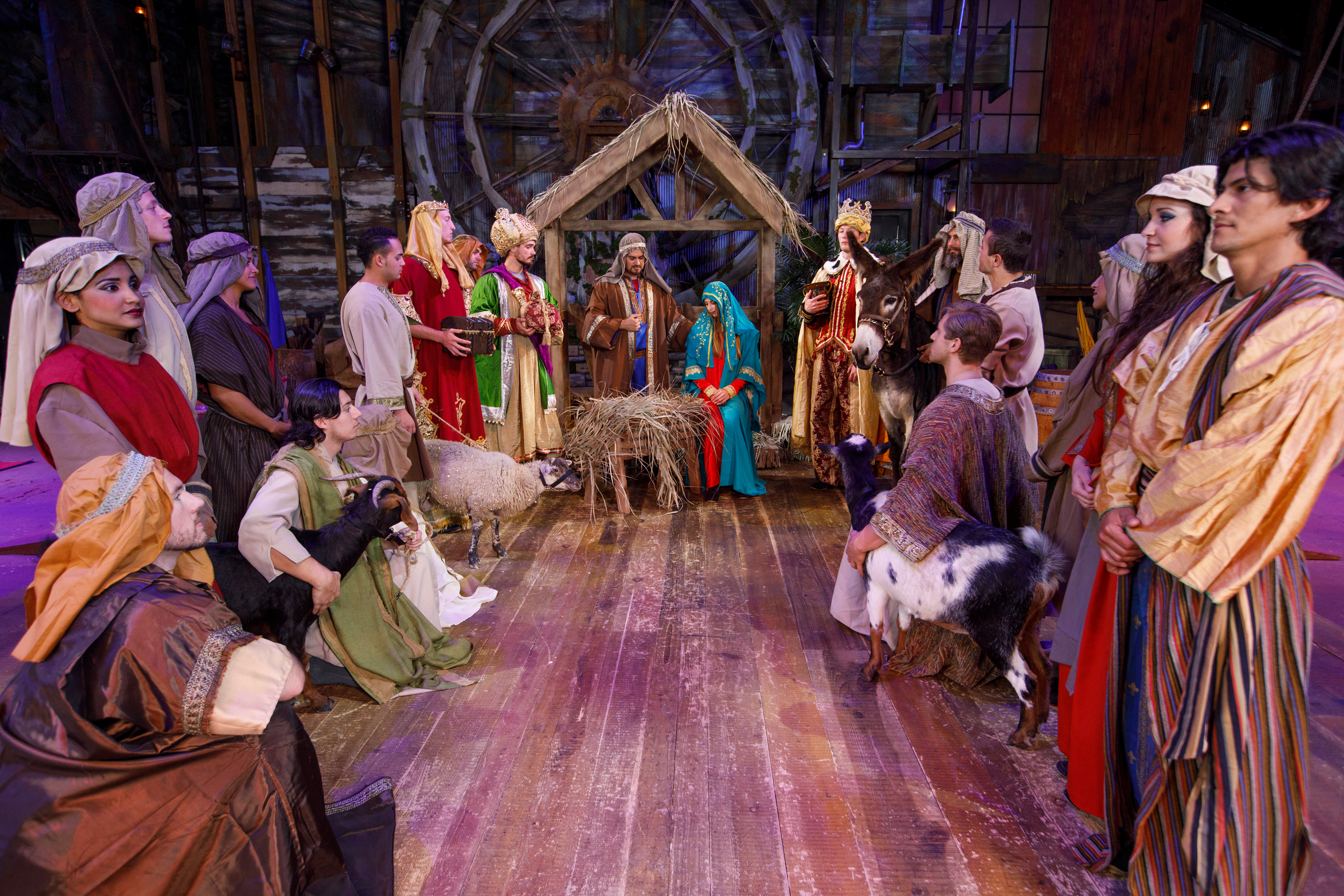 all new christmas show debuts at dolly partons smoky mountain adventures business wire
