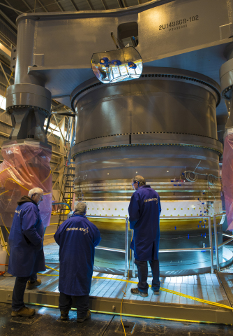 Orbital ATK successfully completed the structural acceptance test on the first motor high-strength composite case for its Next Generation Launch system. (Photo: Business Wire)