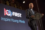 FIRST® commits to closing STEM equity gap at third annual FIRST Inspire Gala in New York City on November 2; honors President Barack Obama, 44th President of the United States, for his significant contributions to spreading the mission and impact of FIRST for nearly a decade. (Photo: Business Wire)