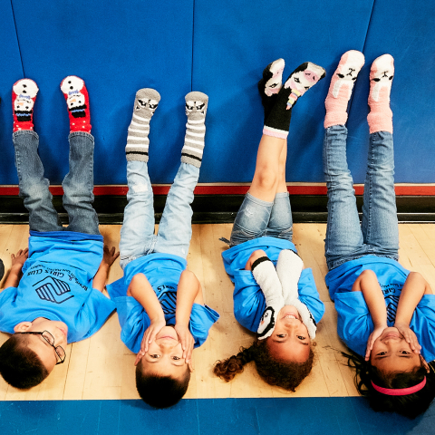 Old Navy to give $1 to Boys & Girls Clubs for every $1 Cozy Sock purchased on Black Friday, up to $1 million (Photo: Business Wire)